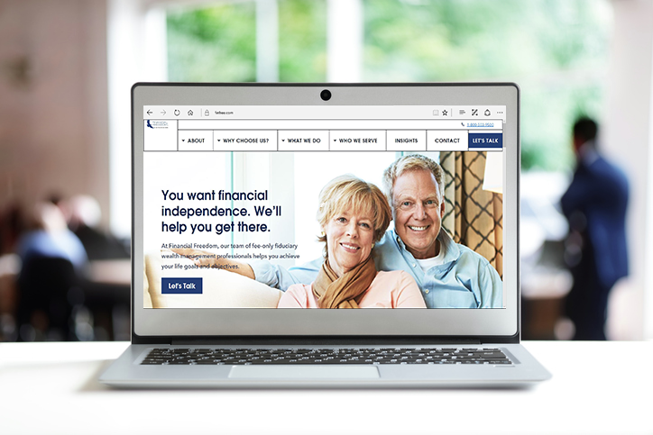 Financial Freedom Launches New User-Friendly Website